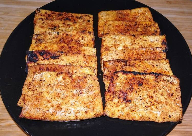 How to Prepare Tasty Tofu frit aux épices (vegan)