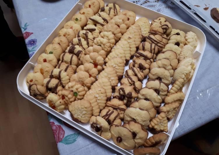 Biscotti di frolla montata glutenfree