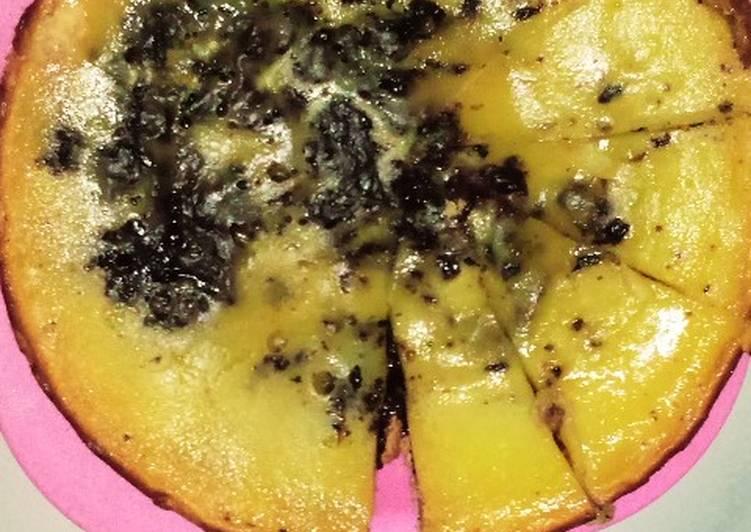 Pie Susu Ketan Itam Teflon