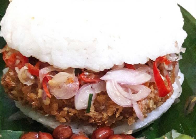 Burger Ayam Sambel Matah