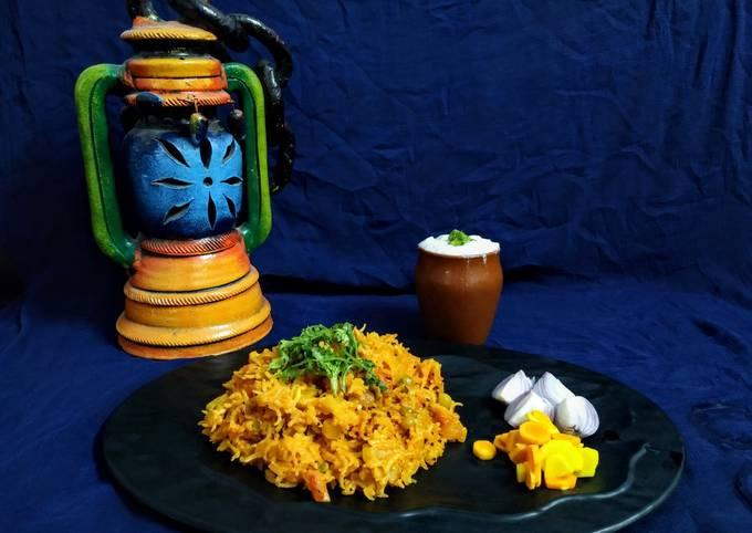 Mix vegetable khichadi