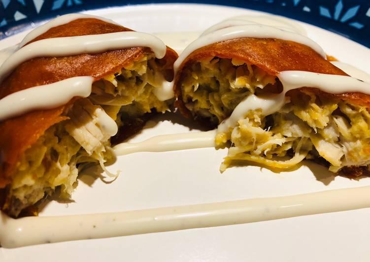 Steps to Make Award-winning Baked Chicken 🐔 Empanadas