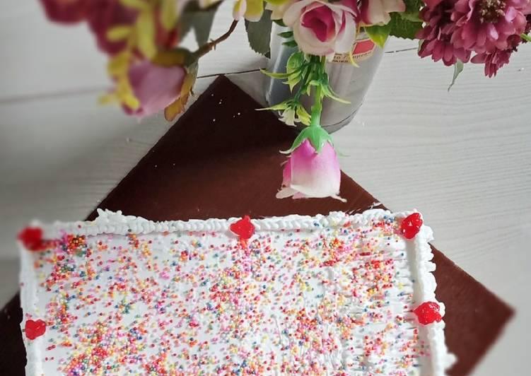 Cara Termudah Untuk Mempersiapkan Sempurna Toast Birthday Cake (kue Ulangtahun Roti Tawar)