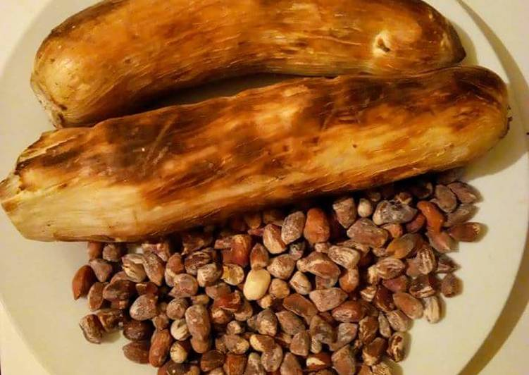 How to Make Award-winning African Soaked Cassava with Roasted Ground nuts