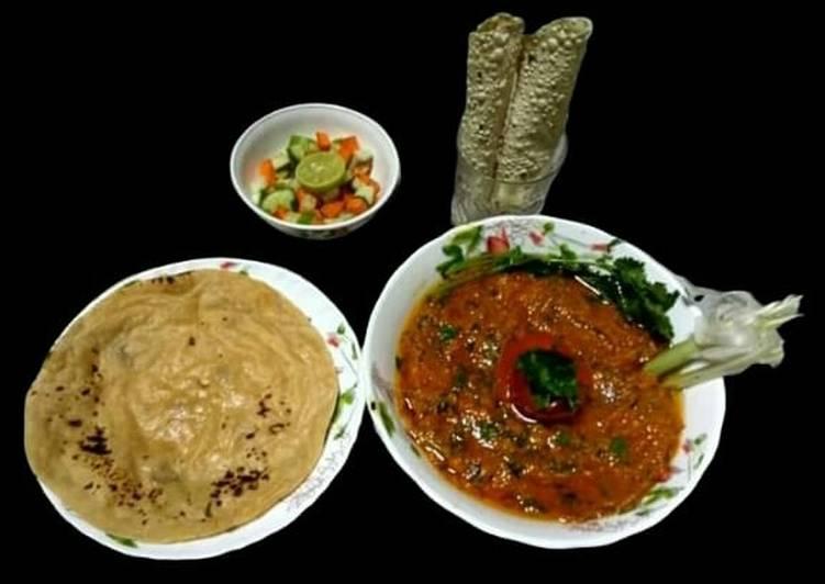 Mashed potato and tomato masala