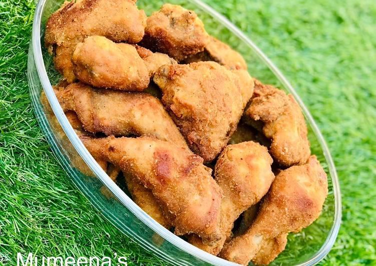 Steps to Make Ultimate Crispy chicken