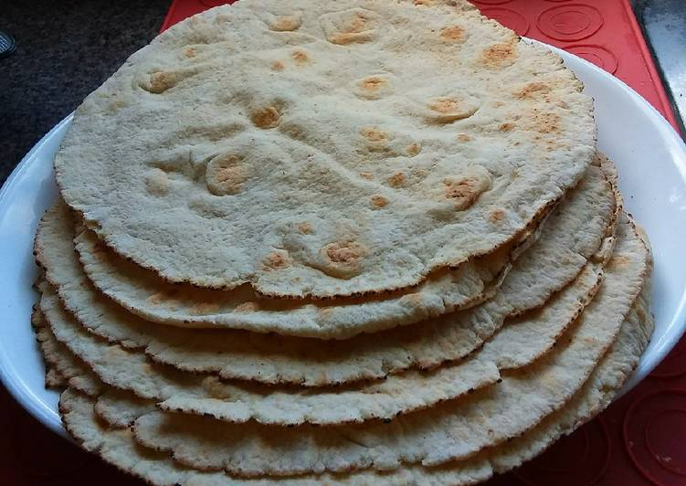 Easiest Way to Prepare Perfect Crunchy Flatbreads with Yoghurt😍🍞🌮🌯🥙🍅