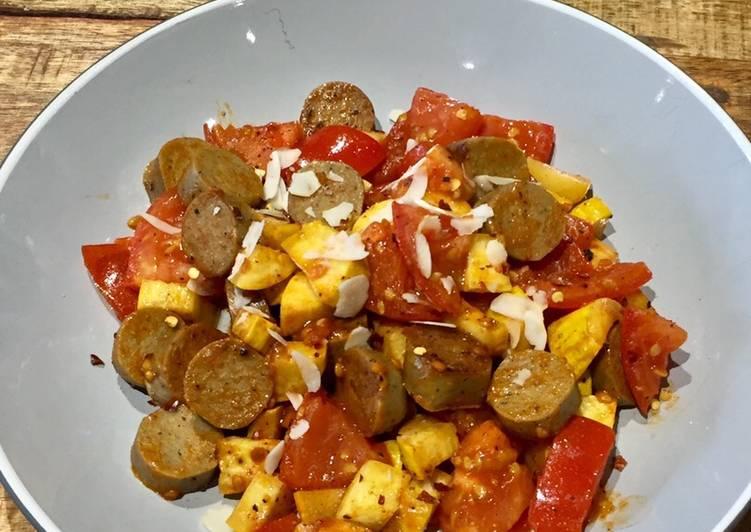 Veggie Sausage Breakfast Fry Up