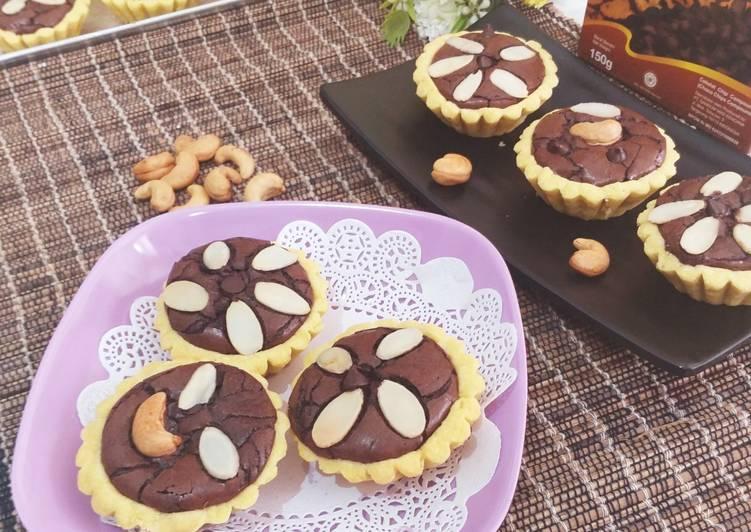 Resep Pie Brownies Simple Terenak