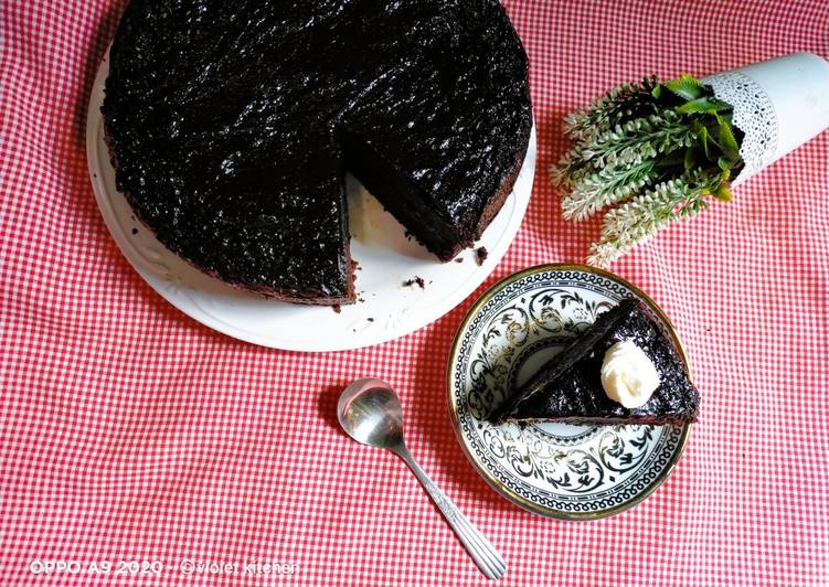 Black Coffe Cake