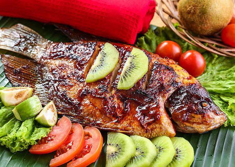 Kakap Bakar Aroma Kiwi