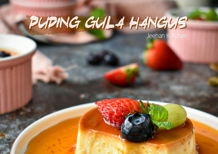 Puding Gula Hangus/Cream Caramel Pudding - velavinkabakery.com