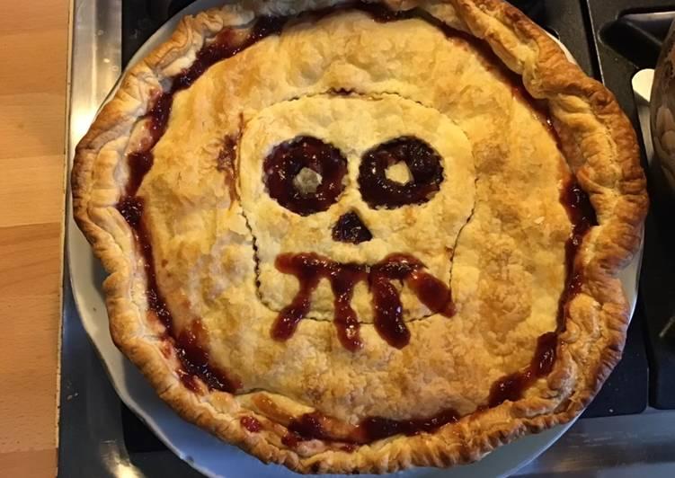 Recipe of Ultimate Tourte «sanglante» d Halloween aux cerises