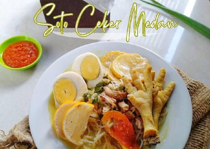 Soto Ceker Medan