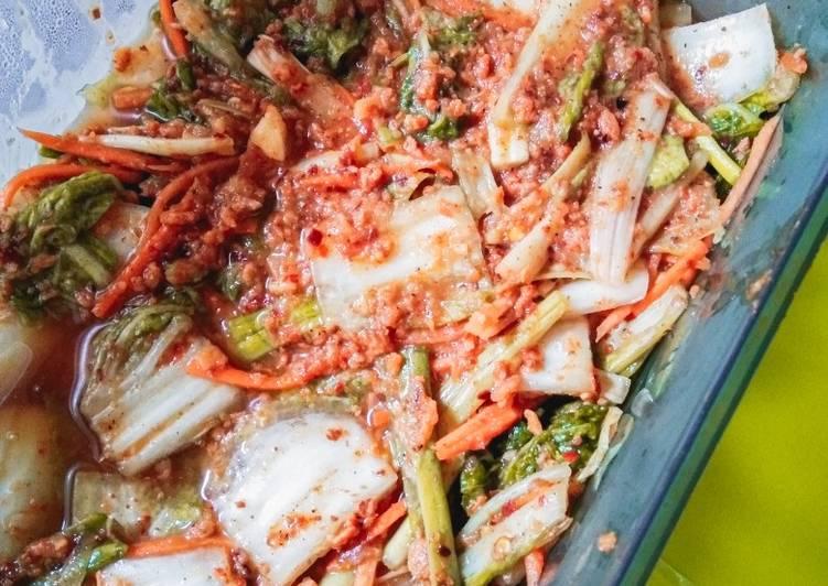 Fresh Kimchi (Geotjeori) Homemade ✨