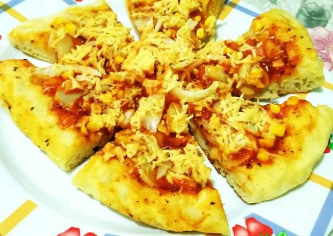 Resep Pizza Tanpa Ulen Tanpa Oven Dan Tanpa Telur Oleh Aiz Cookpad