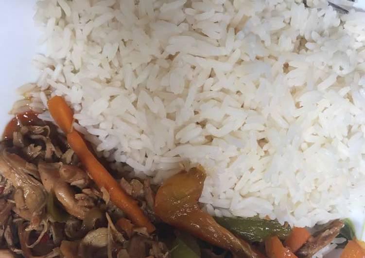 Stir Fry with White Rice