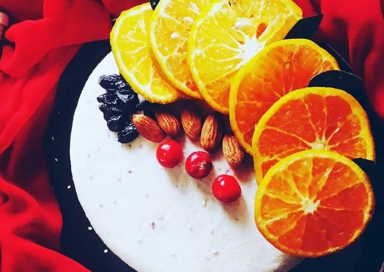 Eggless Mix fruit cake