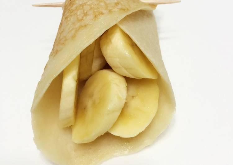 Eggless Crepe Diet Breakfast