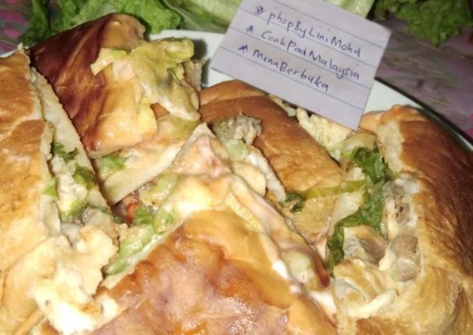 ROTI JOHN mudah #phopbylinimohd #cookpadmalaysia #menuBerbuka