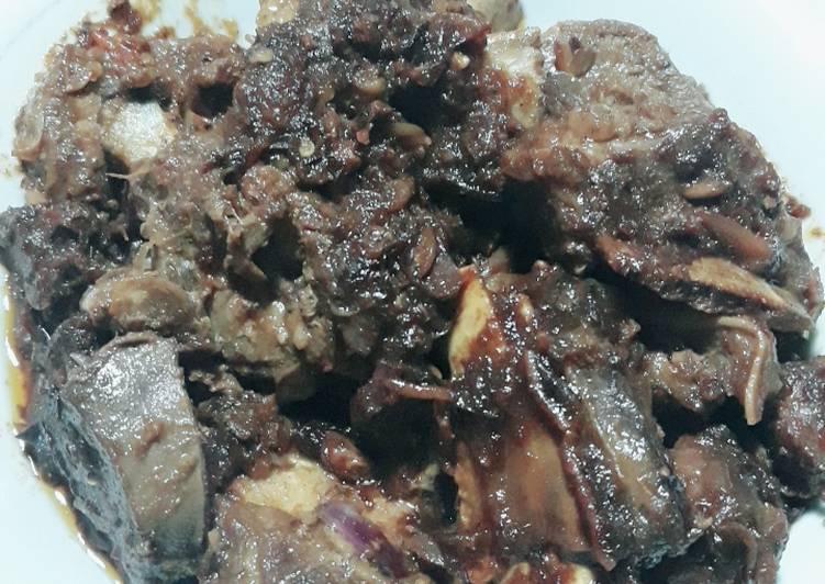 Iga bakar masak kecap pedas # bikin ramadhan berkesan