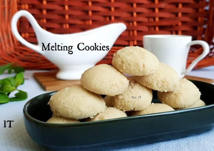 melting cookies
