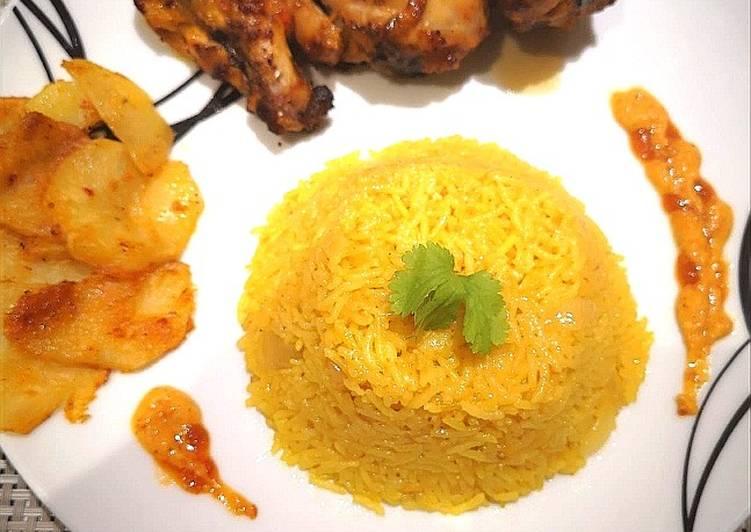Recipe of Speedy Nandos peri peri Chicken with Rice