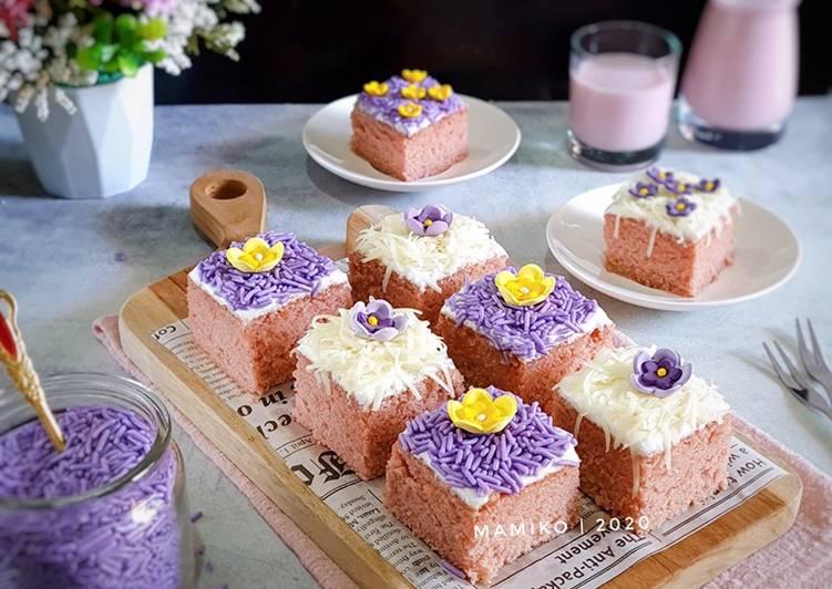 Taro Sponge Cake - cookandrecipe.com