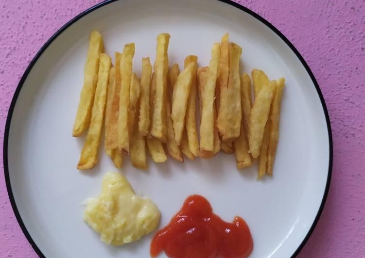 Kentang Goreng Crispy (Resep Rumahan & Simpel)