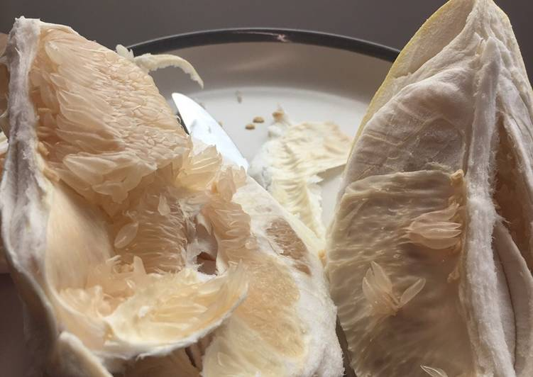 Easiest Way to Prepare Homemade Gigantic Asian grapefruit breakfast