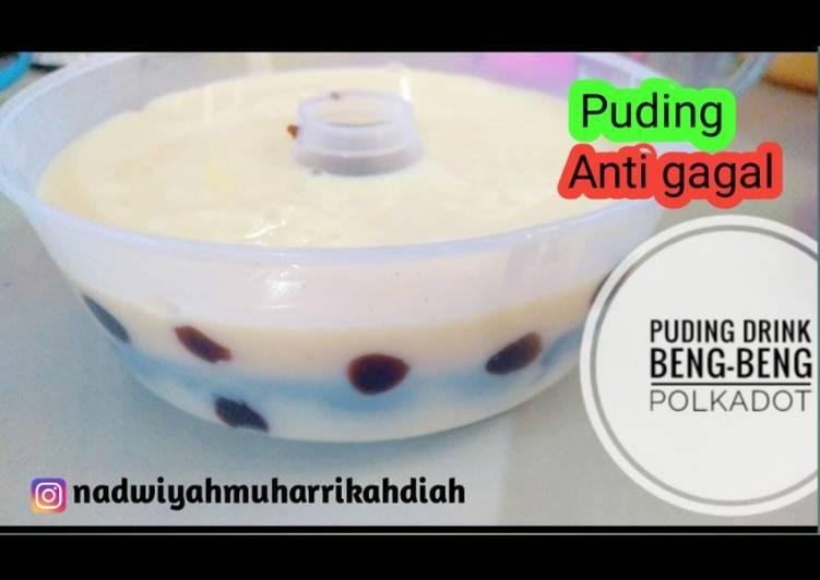 PUDING DRINK BENG-BENG | PUDING POLKADOT | PUDING ANTI GAGAL
