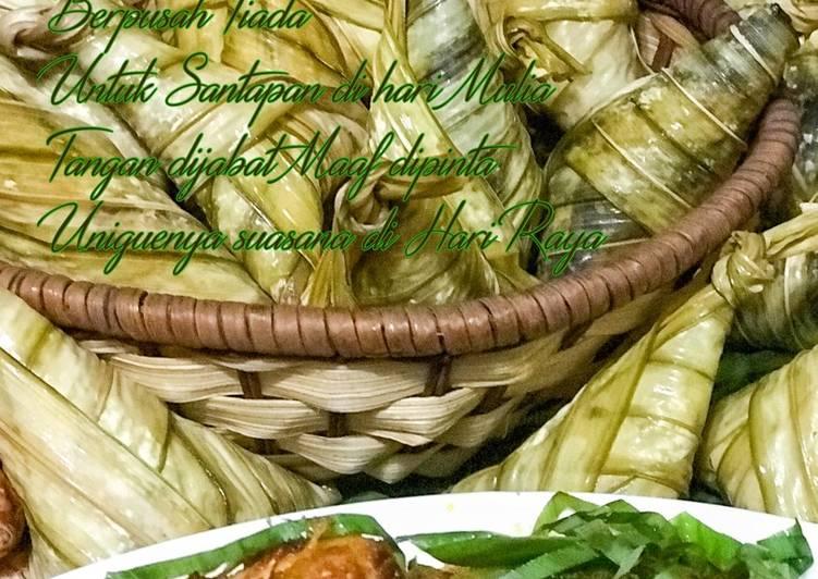 Ketupat Palas dan Rendang Ayam - velavinkabakery.com