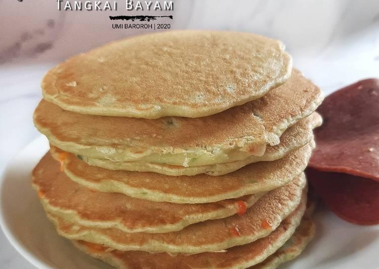 pancake-tangkai-bayam