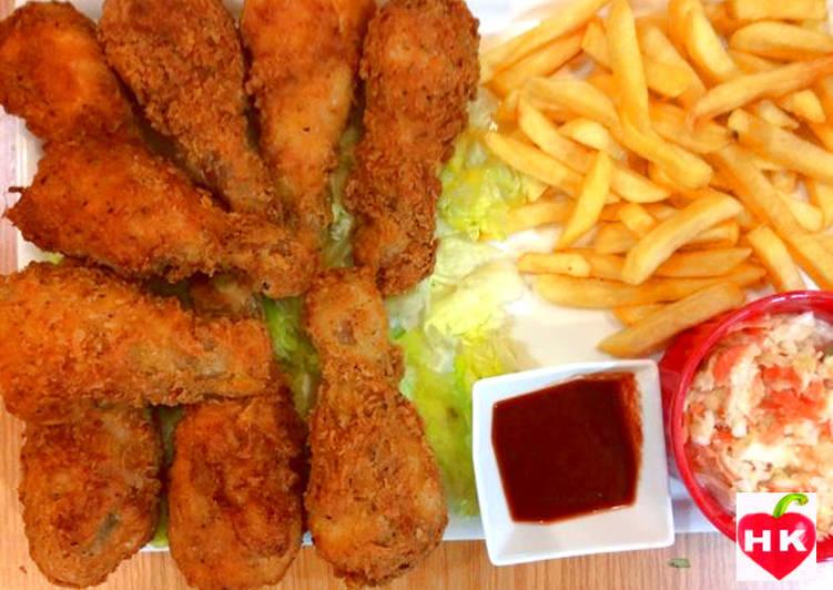 دجاج مقلي