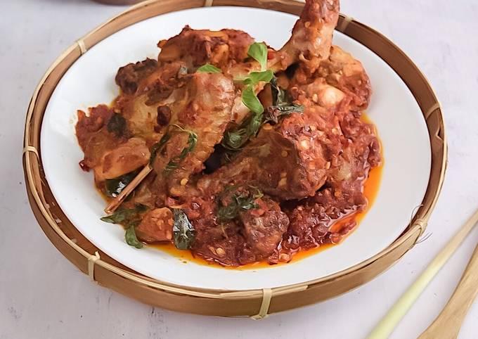 Ayam Basil Balado