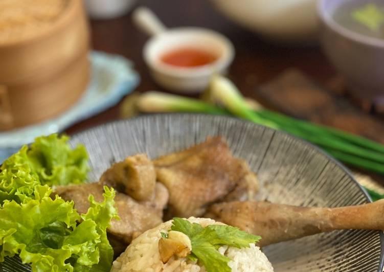 Nasi Ayam Hainan ala Tiger Kitchen