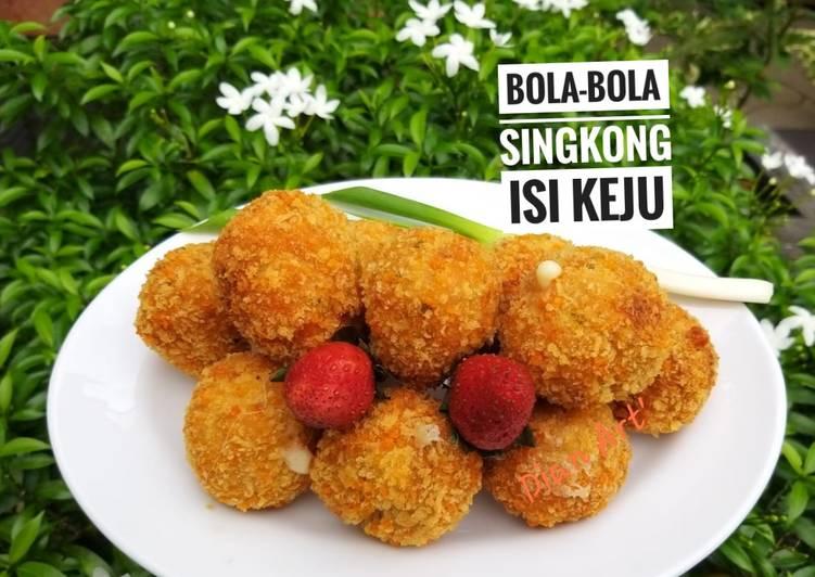 🧀Bola-bola Singkong Isi Keju 🧀