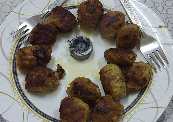 Chatpate kababs