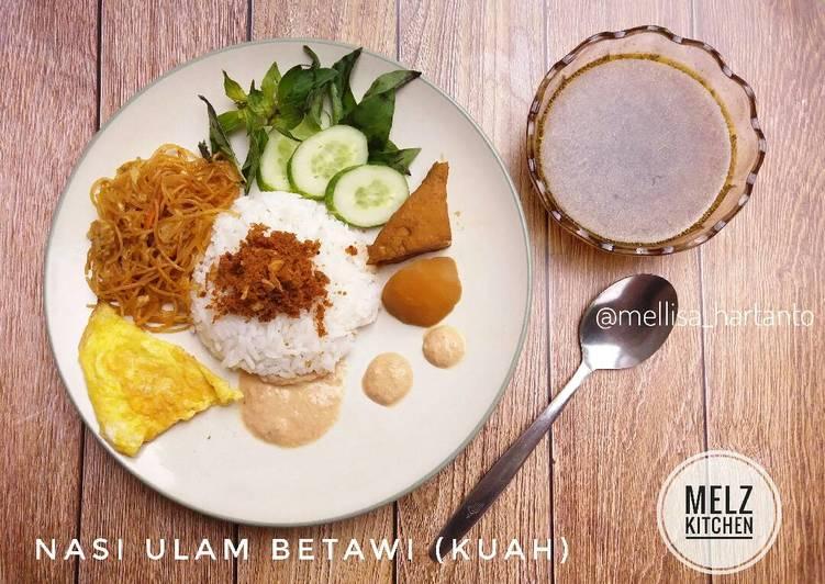 Nasi Ulam Betawi (Kuah)