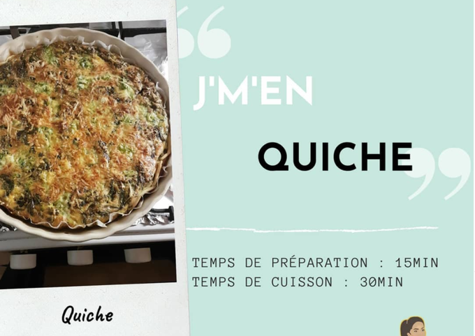 Quiche saumon/Brocolis