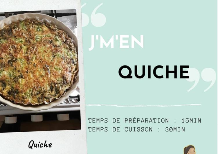 Quiche saumon/Brocolis