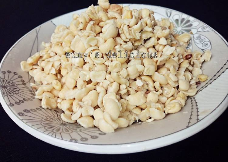 Recipe of Super Quick Homemade Simple way to peeled your beans