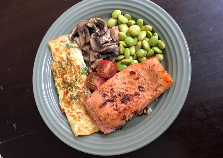 Grilled Salmon Simple