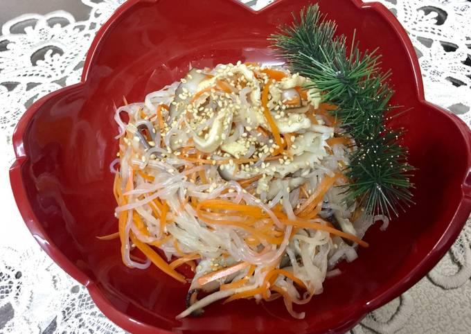 Japanese Daikon sweet vinegar salad