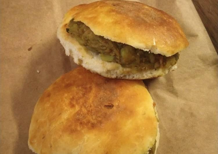 Naan Sandwich