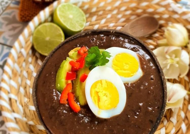 Sopa negra – Schwarze Bohnensuppe