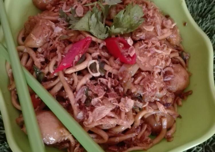 Resep Mie goreng Jawa Simple rasa Resto Anti Gagal Bikin Jadi Laper