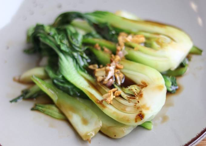 Pakchoi with oyster sauce 🥬