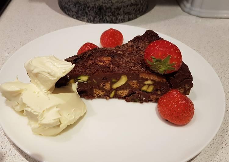 Gluten free chocolate torte