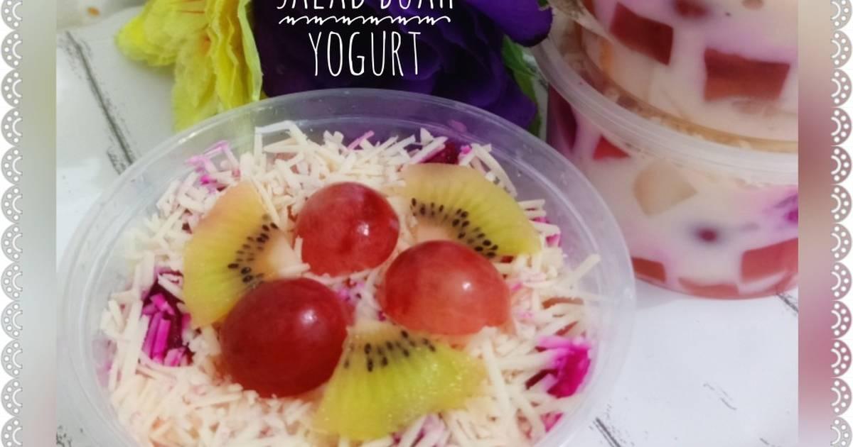 Resep Salad Buah Yogurt Cimory Oleh Ummu Fathan S Kitchen Cookpad